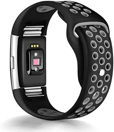 For Fitbit Charge 2 Bands, Humenn Replacement Accessory Sport Band for Fitbit Charge 2 HR