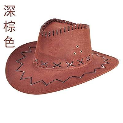 À l'été de l'avant-toit Cap Shaded Sun Hat Chapeaux mode Plein Air Marée Sport et loisirs Série L (58-60cm), Brun foncé