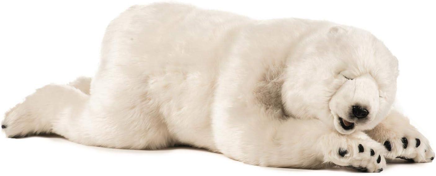 B001DX652U HANSA Sleeping Polar Cub Plush, Large 51iJyWnUF9L.SL1500_