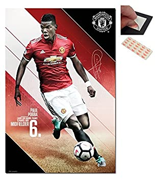 Manchester United Pogba 2017 / 2018 Season Poster - 91.5 x 61cms (36 x 24 Inches)