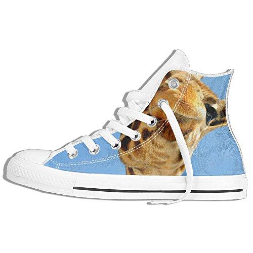 Classiche Sneakers Alte Scarpe Di Tela Antiscivolo Giraffa Carino Casual Da  Passeggio Per Uomo Donna Bianco 34a99a4a8ea