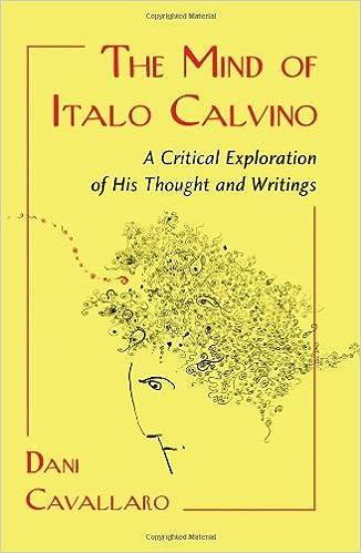 the mind of italo calvino cavallaro dani