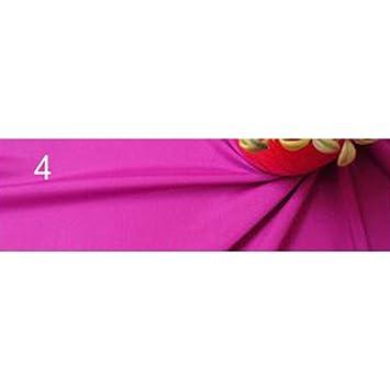 Crepe De Chine gasa tela de seda Artificial Opaco elasticidad tejidos boda vestido vestidos Tops