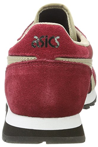 beige Asics Runner Basses Sneakers Oc Adulte Mixte Rouge w7w10gqr