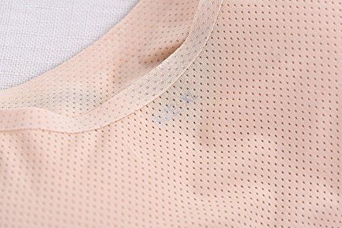 Srizgo Schlafen BH Damen ohne Bügel 4er Pack soft seamless nahtlos klassisch T Shirt BH Unsichtbar BH WohlfühL BH Yoga BH