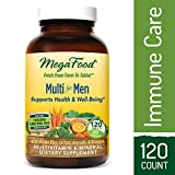 Cheap MegaFood – Multi for Men, Multivitamin Support for Energy Production, Cardiovascular Health, and Immune Function with Methylated Folate and B12, Vegetarian, Gluten-Free, Non-GMO, 120 Tablets