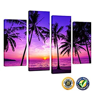 51iK-QnyPYL._SS300_ Best Palm Tree Wall Art and Palm Tree Wall Decor For 2020