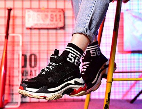 Kvinders Sneakers Retro- Sneakers Vilde Pu Sneakers Sort Mug Andred BNHEoBZ3