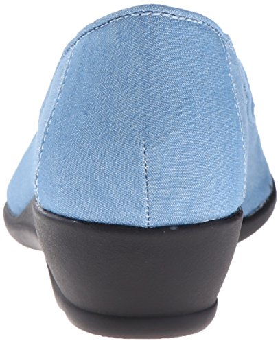 Soft Style by Hush Puppies Rory Grande Lona Plataformas Light Blue Chambray