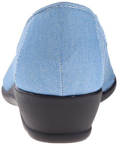 Blue Soft Rory Chambray Light Style Women's Flat Puppies Hush rwgUqr0