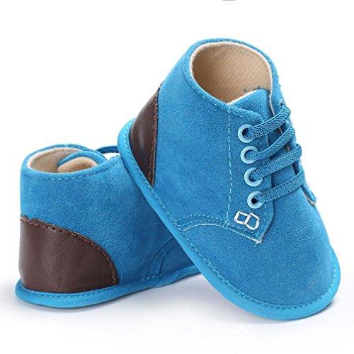 Clode® Baby Säugling Kinder Mädchen Jungen Weiche Sole Krippe Kleinkind Neugeborene Schuhe Blue