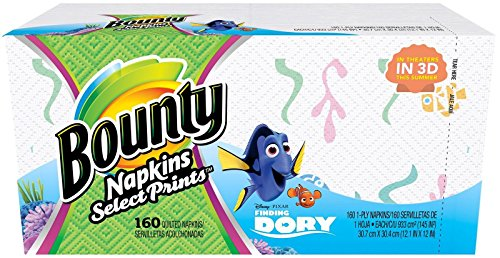 Bounty Napkins Finding Select Prints product image