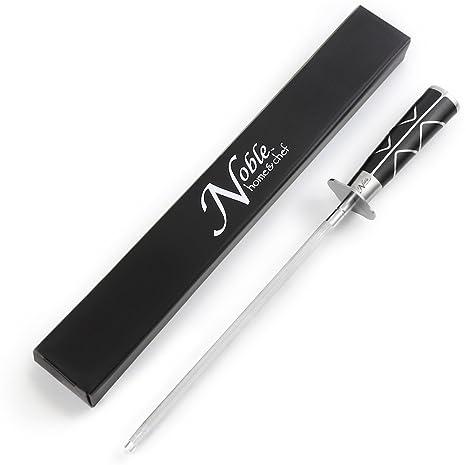Amazon.com: Cuchillo profesional de acero magnético para ...