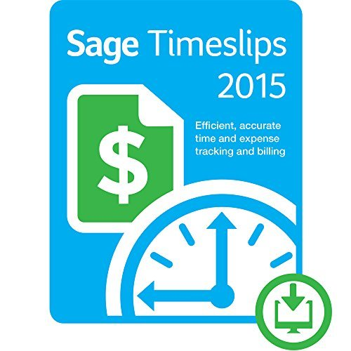 Sage Timeslips 2015 - 3 User [Download] by Sage Software