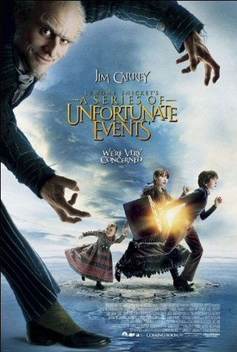 Lemony Snicket's A Series of Unfortunate Events Movie Poster by MoviePostersDirect