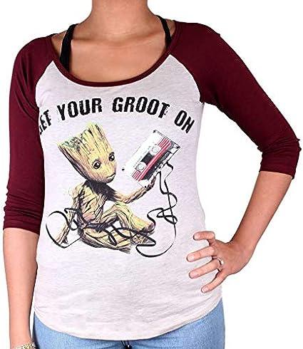 Get Your Groot on cotton division T-Shirt Femme Gardiens de la Galaxie 2