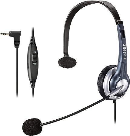 Callez Telefon Headset 2 5mm Klinke Mono Mit Noise Elektronik