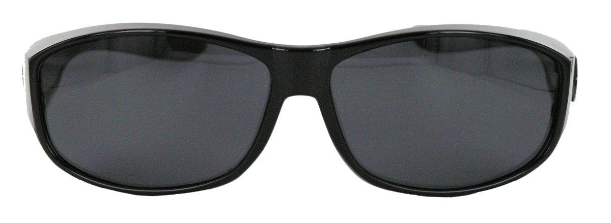 PBV Polarisierte Sonnenbrille Überbrille für Brillenträger Fit over Polbrille Herren Damen MODELLWAHL (Mod.4 : Tortoise / Braun) 8RxPAL