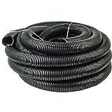 uv wire - 20 Ft 1' 25mm Split Wire Loom Conduit Polyethylene Tubing Black Color Sleeve Tube