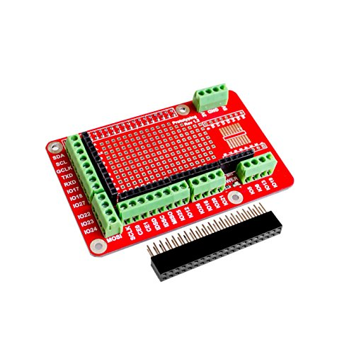 AEEDAIRY Prototyping Expansion Shield Board for Raspberry Pi 2 Board B and Raspberry Pi 3 Board B