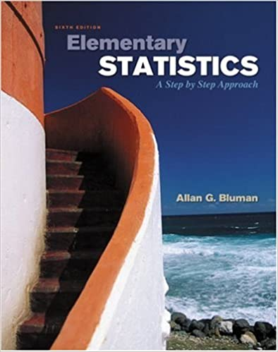 answers for elementary statistics 6th edition bluman