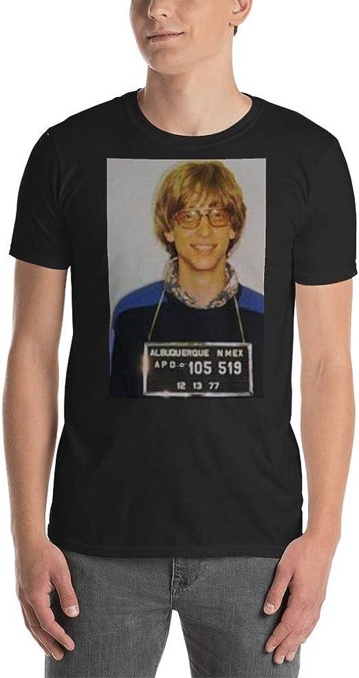 Amazon.com: Bill Gates - Camiseta de manga corta para hombre ...