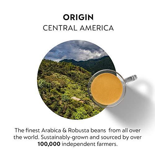 Nespresso Capsules VertuoLine, Double Espresso Scuro, Dark Roast Espresso Coffee, 30 Count Coffee Pods, Brews 2.7 Ounce