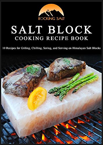 Himalayan Natural Crystal Salt Cooking Tile 10'' X 6'' X 2'' With Free Recipe Guide Included by Rocking Salt (Image #4)