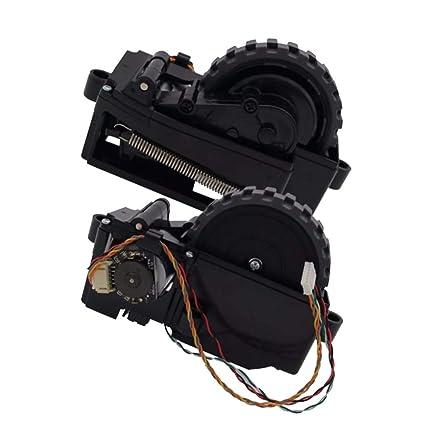 SM SunniMix 2 Unidads Ruedas Derecha + Izquierda de Motor Parte Reemplazo para Ilife V7 V7s