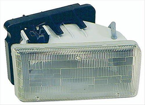 OE Replacement Headlight Assembly DODGE DAKOTA PICKUP 1991-1996