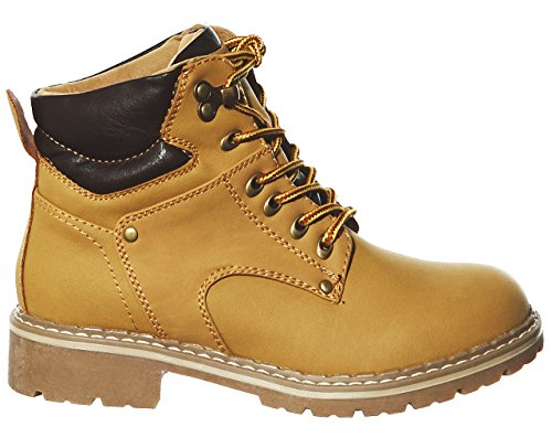 Lace New Boots Ankle Camel up fawxqa0