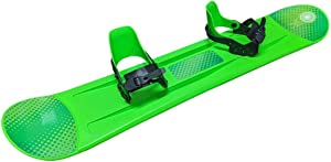 Grizzly Snow Deluxe Kid's Beginner Freeride Snowboard, 95cm or 120cm, Multiple Colors