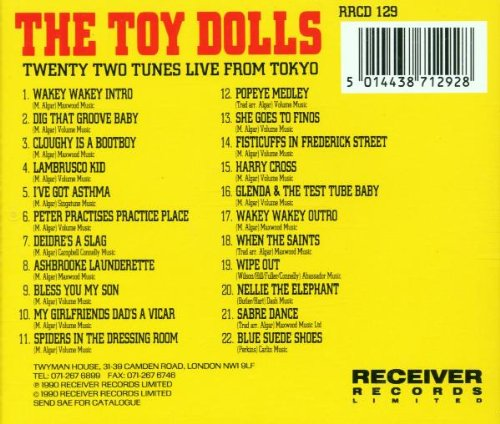 Twenty Two Tunes Live from Tokyo