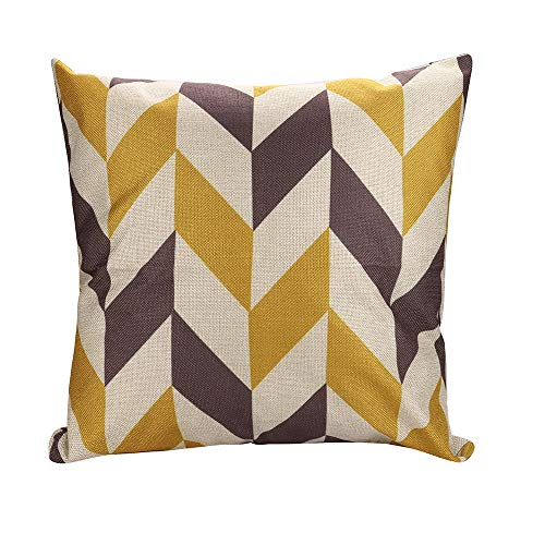 Dressin Christmas Solid Color Home Decor Pillow Case Cotton Linen Cushion Cover (Many Colors ()
