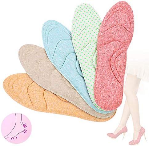 Houer Foam Orthotic Insole Arch Support für Schuhe Plattfuß Fußpflege Sole Schuh Orthopädische Pads, rot