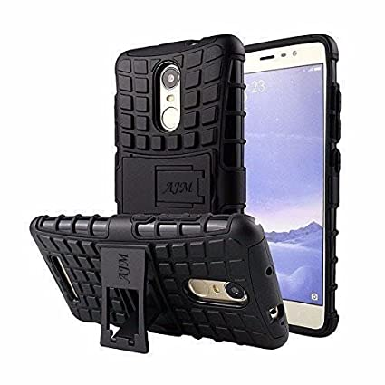 online store 12749 88c9d AJM Redmi Mi Note 4 Defender Stylish Hard Back Armor Shock Proof Case Cover  With Back Stand Feature