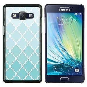 """Be-Star Único Patrón Plástico Duro Fundas Cover Cubre Hard Case Cover Para Samsung Galaxy A5 / SM-A500 ( Wallpaper Luz Azul Blanco Diseño Patrón"""" )"""