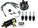 COMPLETE TUNE UP KIT & 12V COIL FERGUSON TO20 TO30 TO35 F40 MH50 TRACTOR