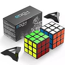 スピードキューブ QOOH 競技専用ver.2.0 世界基準配色 2個 セット ...