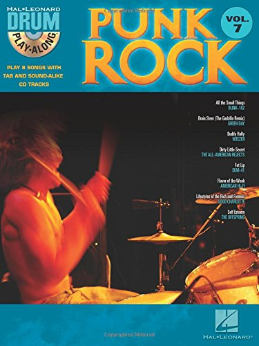 Punk Rock: Drum Play-Along Volume 7 (Hal Leonard Drum Play-Along)