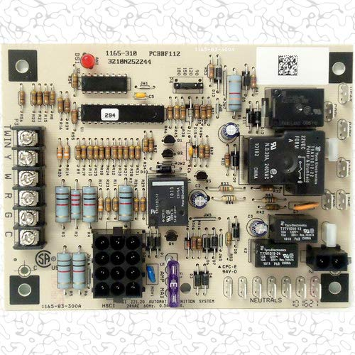 (OEM Upgraded Replacement for Goodman Furnace Control Circuit Board PCBBF112)