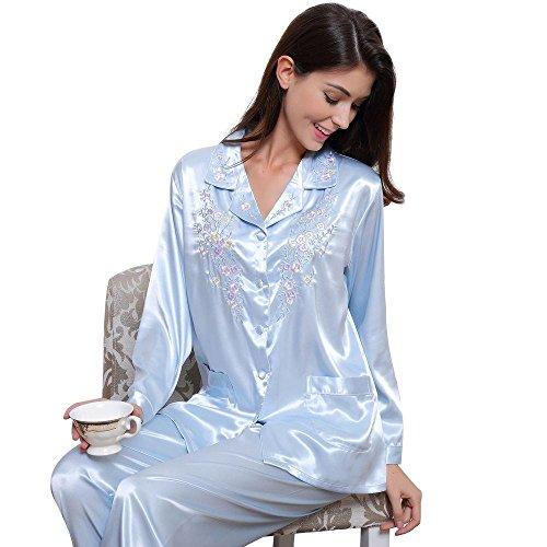 womens-silk-satin-pajamas-set-sleepwear-loungewear-xs3xl-plus-gifts-7-12days-to-usa