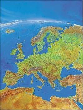 Carte De Leurope Jeux Educatifs.Ravensburger L Europe Carte Panoramique 1000 Pieces Puzzle