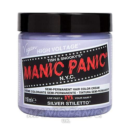 Manic Panic Silver Stiletto Hair Toner Classic