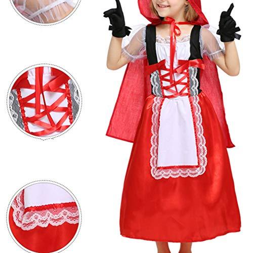 Zhxinashu Filles Halloween Costumes Partie D'enfant Costumé Rôle Des Tenues De Jeu (s-xl)