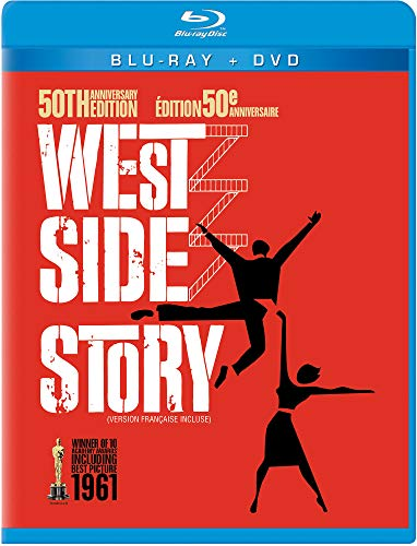- West Side Story (Three-Disc 50th Anniversary Blu-ray/DVD Combo in Blu-ray packaging)