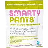 Smartypants - Multivitamin - All in One - D3 - Gummy - Adlt - .56 oz - 1 Case