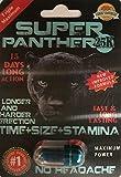 Super Panther 25K Men Sexual Supplement Enhancement 3 Pills Pack