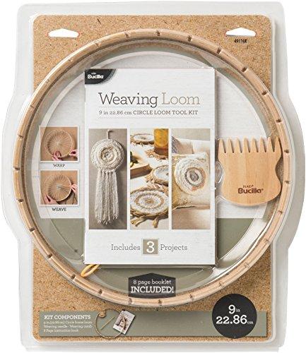 Bucilla 49110 Circle Weaving Loom Kit, Brown by Bucilla