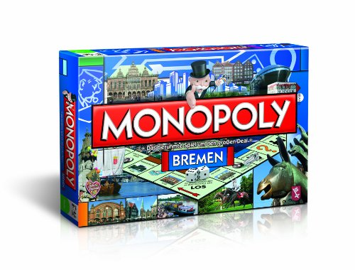 Winning Moves - 40354 - Moves Monopoly Bremen 07ac81